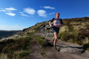 The Edale Skyline fell race, Dark Peak