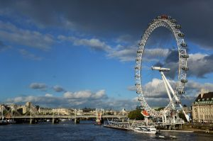 The Millennium Wheel (a.k.a. the London Eye)
