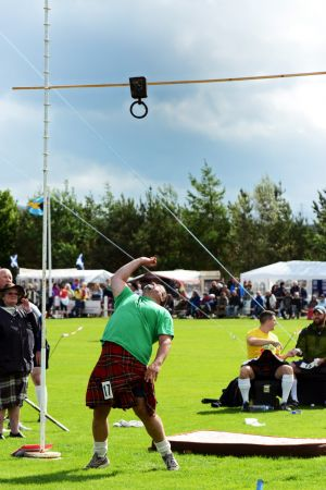 Up and Over at Newtonmore Games
