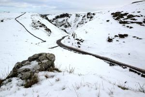 Winter hts Winnats Pass, Peak District
