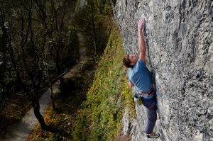 Kristian on his new super-crimpy F8a  at Garage
