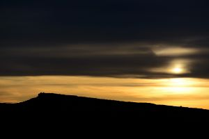 Sunset over Stanage #1