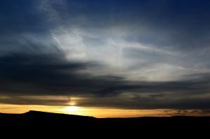 Sunset over Stanage #3