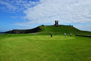 Dunstanburgh Golf Course. I don't play golf, but if I did this is one venue I'd go for