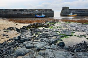 And a landscape version of Craster Harbour too
