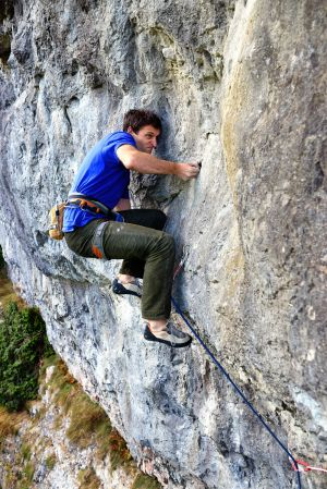 Pete Hart on Brothers in Arms (F7bplus), Long Wall, Chee Dale