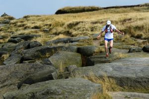 Tony Whitehouse near Kinder Downfall, Peak District