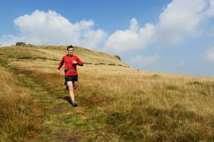 Jon Barton near Edale Cross, Peak District