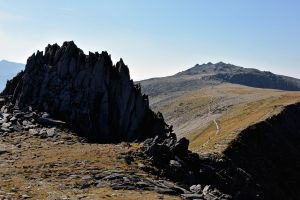 Castell y Gwnt (Castle of the Winds) and Glyder Fawr