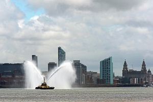 Liverpool's Albert Dock sea front