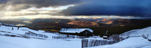 Home time - goodbye Nevis Range