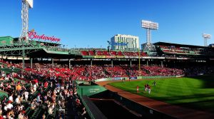 Fenway Park, Boston - home to the Red Sox