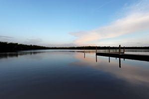 Calm settles over the waters in The Everglades