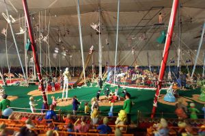 The (model) Big Top at the Ringling Museum, Sarasota Bay