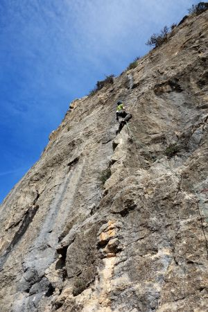 Graham again - this time on Vol Damm at Pesadilla.