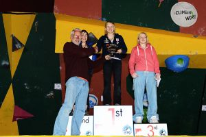 Cliffhanger 2012 - Female Senior Podium