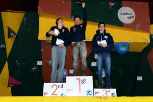 Cliffhanger 2012 - Male Senior Podium