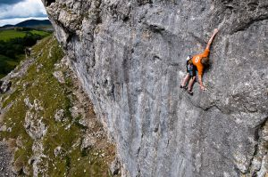 2012 Calendar Comp winner Craig Bailey climbing Climb High at Dinbren