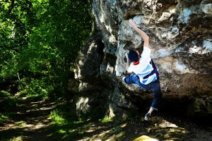 Mold's best bouldering: 'Ruthless' Tom at Pantymwyn