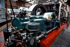 Museum of Science and Industry, Manchester - men and their machines