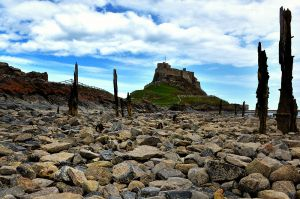 Lindisfarne - from the beach