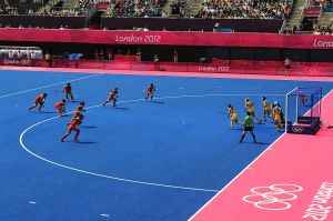 Ladies Hockey, London 2012