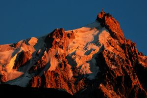 The Midi, Chamonix, France - sunset