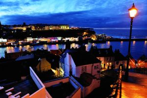 Whitby Harbour @ Night