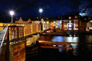 Whitby Swingbridge @ Night